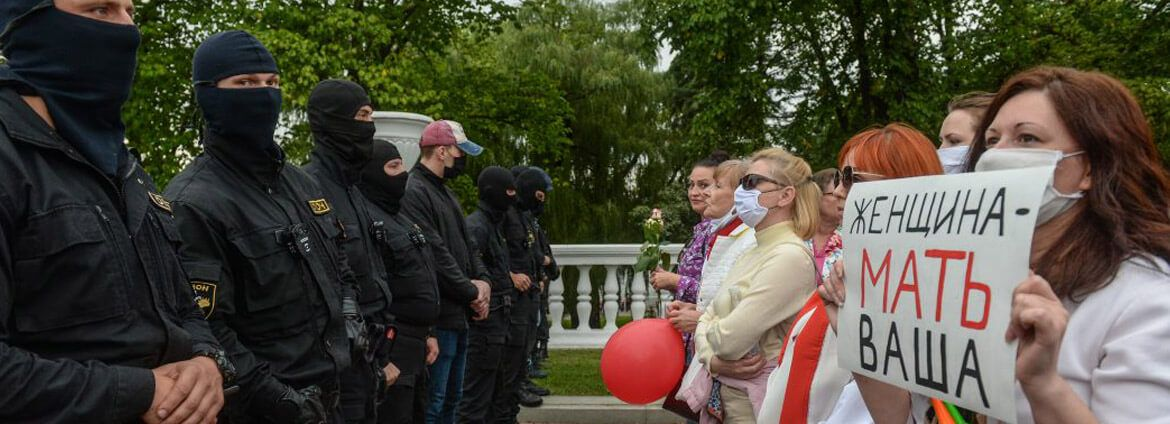 Putin sees Belarus' popular protest as a threat to his own rule