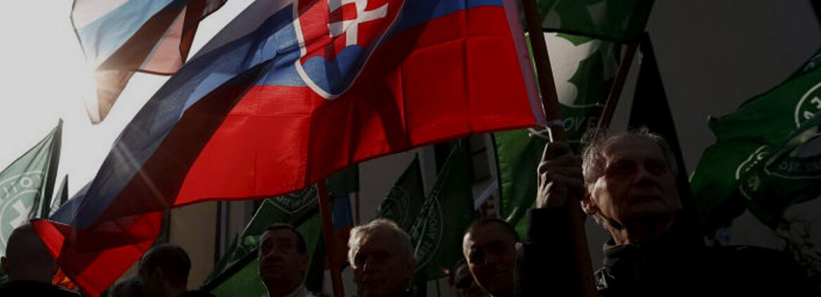 Fascists and low-key communists of Slovakia together for Lukashenko