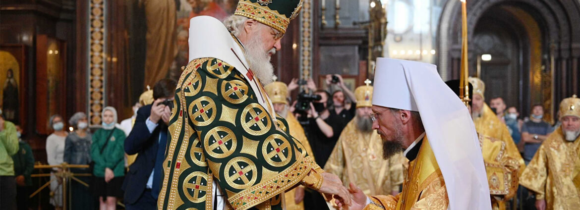 Belarusian Orthodox Church and political agenda in Belarus
