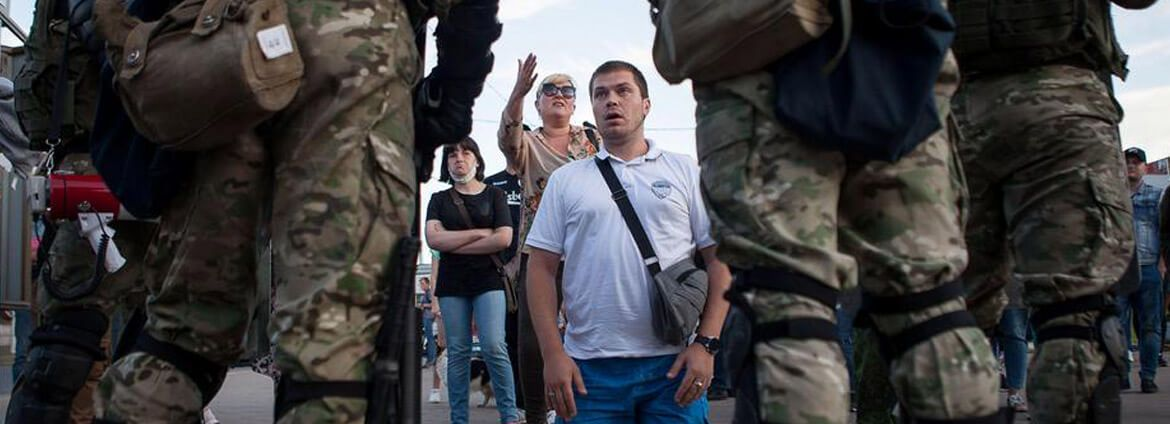 Belarus: introducing elements of the state of emergency